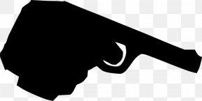 Handgun - Firearm Handgun Pistol Clip Art PNG