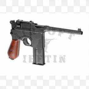 Weapon - Trigger Airsoft Guns Mauser C96 Pistol PNG