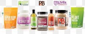 Organic Food Label - Juice Organic Food BetterBody Foods Peanut Oil PNG