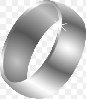 Wedding Ring - Wedding Ring Clip Art Mens Silver Ring* Jewellery PNG