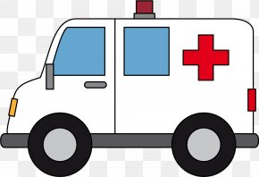 Organization Law Enforcement - Ambulance Cartoon PNG