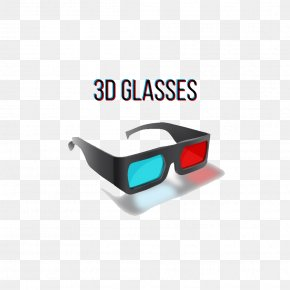 3D Glasses - Stereoscopy 3D Film PNG