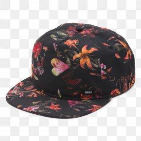 Snapback - Vans Baseball Cap Streetwear Clothing PNG