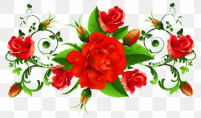 Red Roses Decor PNG Picture - International Women's Day Flower Happiness Woman Greeting Card PNG
