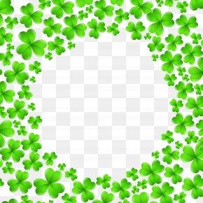 St Patrick's Day Shamrocks Decoration PNG Clip Art Image - Saint Patrick's Day Shamrock Icon Clip Art PNG