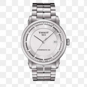 Tissot Luxury Series Watch - Tissot COSC Automatic Watch Chronograph PNG