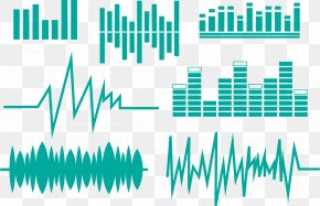 Modern Simple Green Sound Wave Vector - Sound Wave Euclidean Vector Equalization PNG