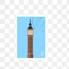 London Big Ben Stamps - Big Ben Postage Stamp PNG