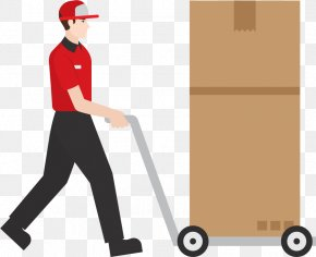 Warehouse Staff - Delivery Euclidean Vector Courier PNG