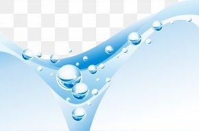 Fresh And Fantastic Water Drops - Water Drop Wave Clip Art PNG