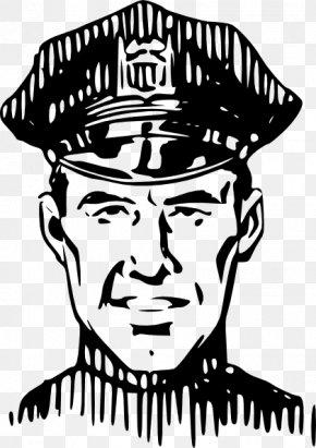 Police Officer Outline - Police Officer Clip Art PNG