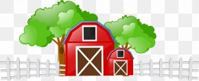 Cartoon Farm - Cattle Farm Livestock Field Clip Art PNG