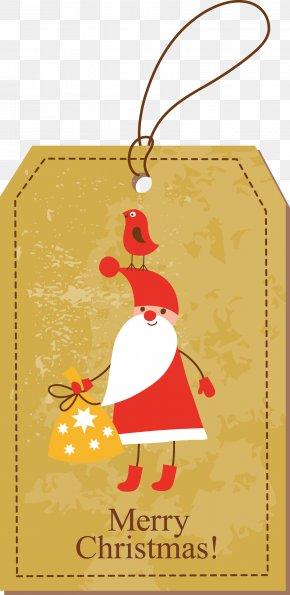 Christmas Tags Vector - Christmas Gift Christmas Gift Santa Claus Christmas Decoration PNG