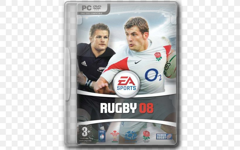 Rugby 08 Playstation 2 Video Game Sports Game Png 512x512px Rugby Brand Ea Sports Electronic Arts