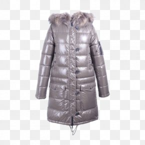 Ms. Down Jacket - Fur Clothing Outerwear Jacket PNG