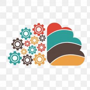 Vector Gear Cloud - Logo Brain Creativity PNG