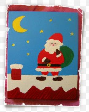 Santa Claus - Santa Claus Christmas Ornament Textile PNG