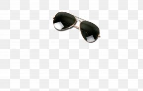 Handsome Black Sun Glasses, Sunglasses, Sunscreen - Sunglasses Goggles Brand PNG