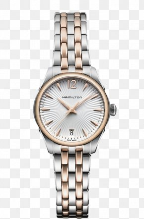 Hamilton Mechanical Watches Silver Watches Female Form - Fender Jazzmaster Hamilton Watch Company Automatic Watch Jewellery PNG