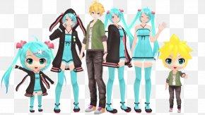 Hatsune Miku - MikuMikuDance Hatsune Miku Kagamine Rin/Len Vocaloid Megurine Luka PNG