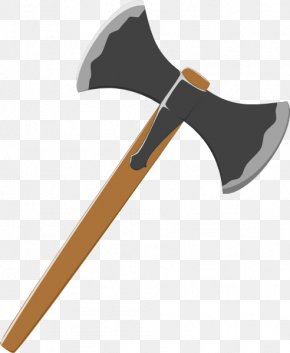 Viking Axe Cliparts - Battle Axe Hatchet Clip Art PNG