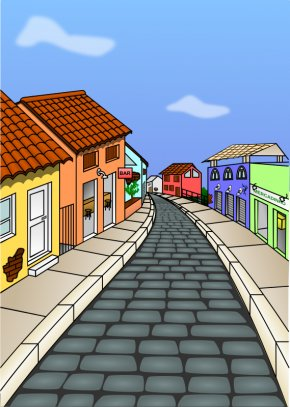 Street Art Cliparts - Free Content Street Clip Art PNG