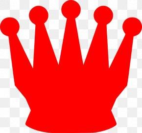 Queen Crown - Chess Piece Queen Bishop Clip Art PNG