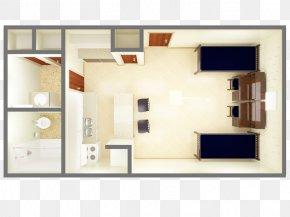 3D Floor Plan Studio Apartment House