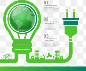 Green Energy Information Chart - Green Infographic Euclidean Vector PNG