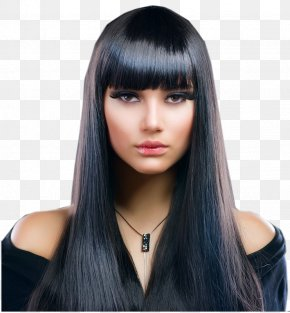 Hair - Hair Straightening Artificial Hair Integrations Beauty Parlour Cosmetologist Hairstyle PNG