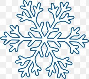 Creative Winter Snow - Snowflake Winter PNG
