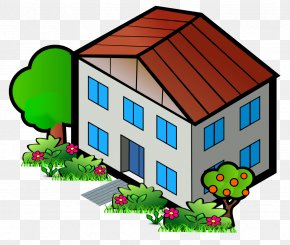 Cartoon House - House Home Clip Art PNG