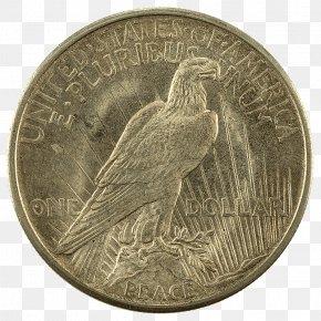 Coin - Quarter Peace Dollar Dollar Coin Morgan Dollar United States Dollar PNG