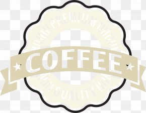 Yellow Fresh Coffee Label - Coffee Download Designer Illustration PNG