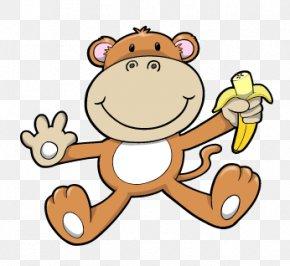 Monkey Cartoon Image - Monkey Clip Art PNG