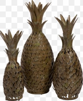 Pineapple Artwork - Pineapple Ceramic Work Of Art Decorative Arts Vase PNG