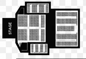 Exhibition Hall - Bridge View Center Des Moines River Facade Building Floor Plan PNG
