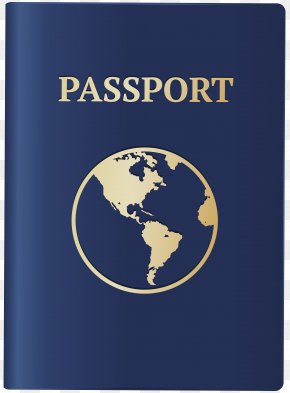 Cartoon Passport Cover - Clip Art Vector Graphics Royalty-free Passport Image PNG