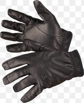 Black Leather Gloves Image - Glove Leather PNG