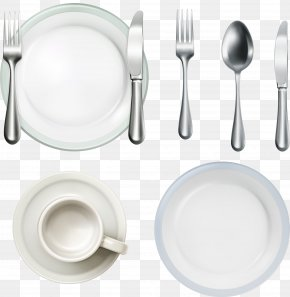Dish Knife And Fork Spoon Tableware Vector Material - Spoon Knife Fork Tableware PNG