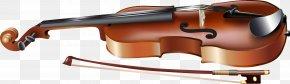 Violin - Violin Bow Clip Art PNG