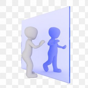 Person In The Mirror - Mirror Stock.xchng Illustration PNG