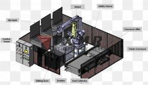 Robotics - Conveyor System Mechanical Engineering Automation PNG