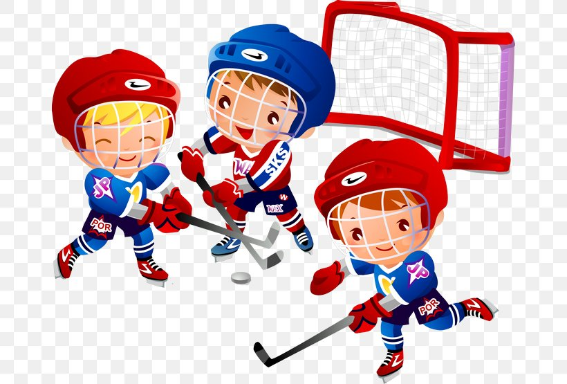 Ice Hockey Cartoon Clip Art Png 670x555px Ice Hockey Area Ball Boy Cartoon Download Free
