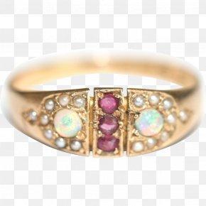 Engagement Ring - Jewellery Ring Gemstone Bracelet Ruby PNG