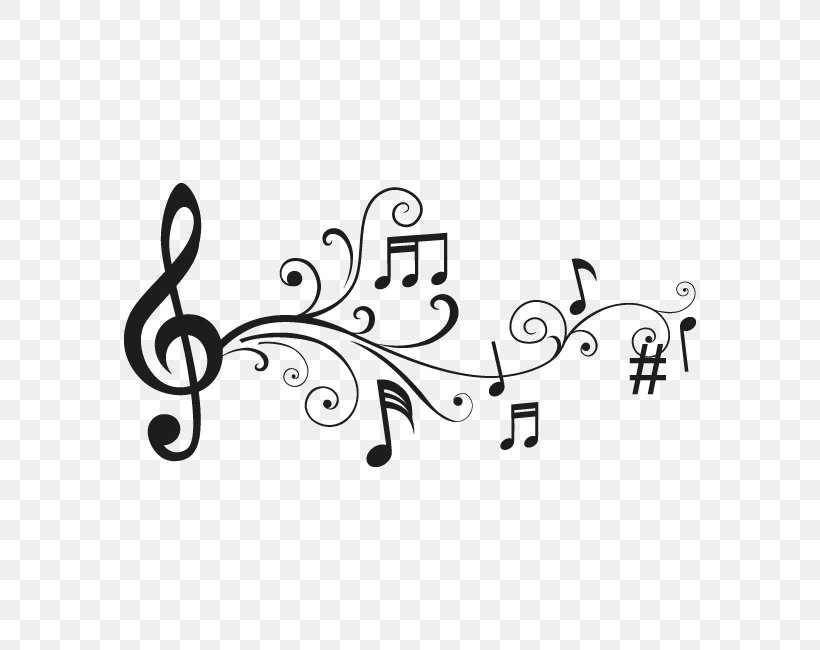 Musical Note Drawing Staff Musical Theatre, PNG, 650x650px, Watercolor, Cartoon, Flower, Frame, Heart Download Free