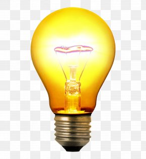 Light Bulb - Incandescent Light Bulb PNG