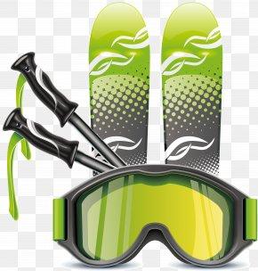 Skiing - Alpine Skiing Ski Poles Cross-country Skiing PNG