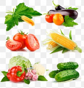 A Variety Of Vegetables - Leaf Vegetable Fruit Broccoli PNG