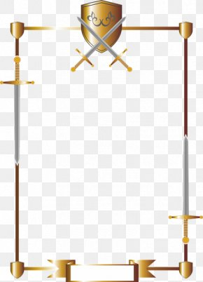 Sword - Post-it Note Sword Shield Knight Weapon PNG